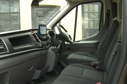 Ford Transit 350 L3 Diesel Fwd 2.0 EcoBlue 130ps Low Floor Luton Skeletal Van